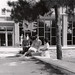 Justin Hall Entrance, 1960