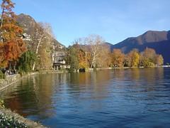 Lugano, parco Ciani - lago Ceresio