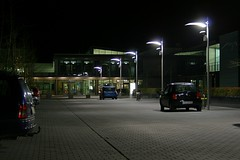 Zufahrt Uniklinik Marburg