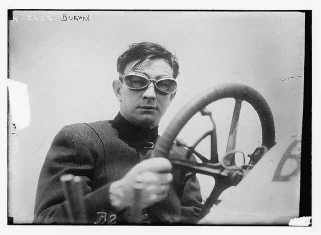 [Bob Burman, race car driver]  (LOC)