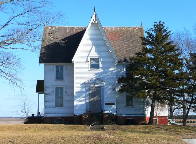 Urbana il gothic revival farmhouse flickr photo sharing for Gothic revival farmhouse