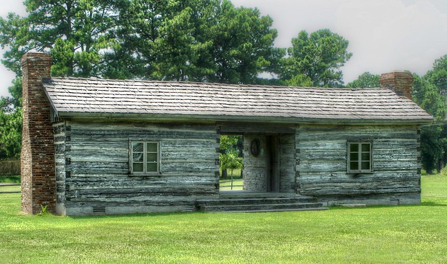 Dog trot cabin flickr photo sharing for Dog trot house plans southern living