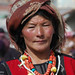 Tibetan Woman - Xiahe, China