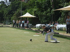 golf(0.0), boules(1.0), lawn game(1.0), individual sports(1.0), sports(1.0), recreation(1.0), outdoor recreation(1.0), competition event(1.0), ball game(1.0), bowls(1.0),