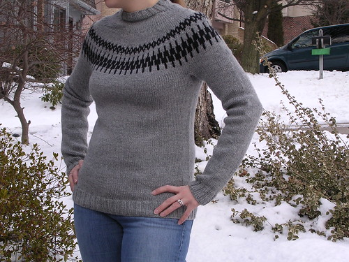 Seamless Yoke Sweater