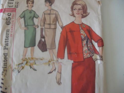 Boucle Jacket Pattern Wool Boucle Jacket