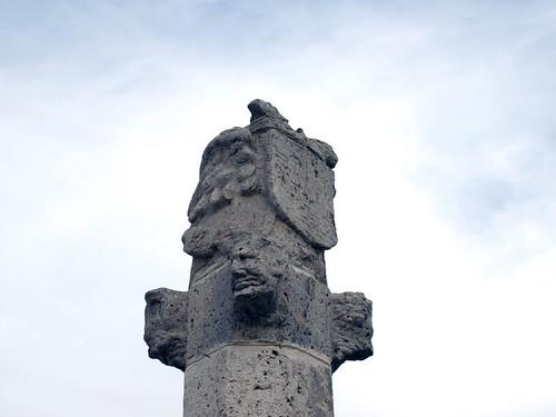 Alba de Cerrato (Palencia). Rollo jurisdiccional. Detalle