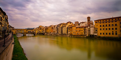 The Arno Runs Through It by Travel by WestEndFoto