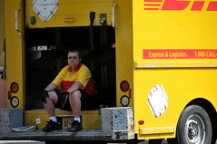 DHL On The Streets of NYC