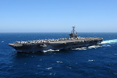 PACIFIC OCEAN (May 27, 2011) The Nimitz-class aircraft carrier USS John C. Stennis (CVN 74) steams the Pacific Ocean. (U.S. Navy photo by Mass Communication Specialist 3rd Class Crishanda K. McCall/Released).