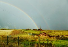 Rainbow at the Brindy, Aberdeenshire