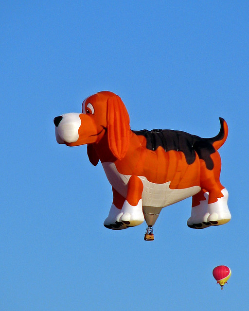 """Maximus the Beagle"" Hot Air Balloon"