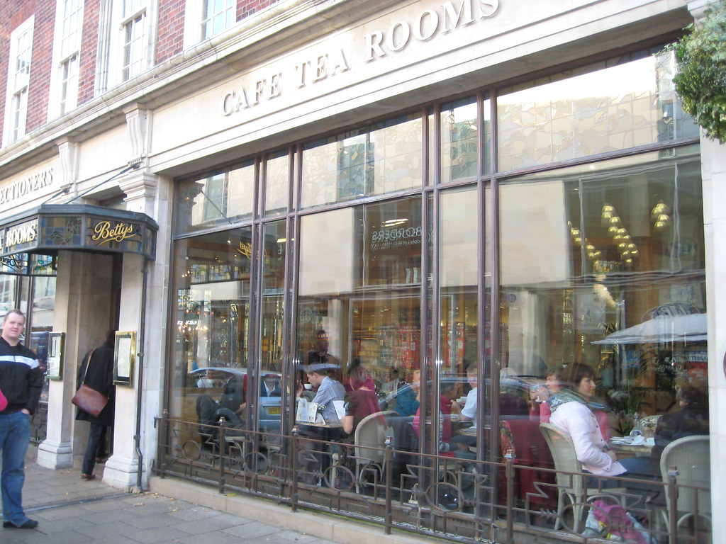 Betty Tea Room Yorkshire Postcode