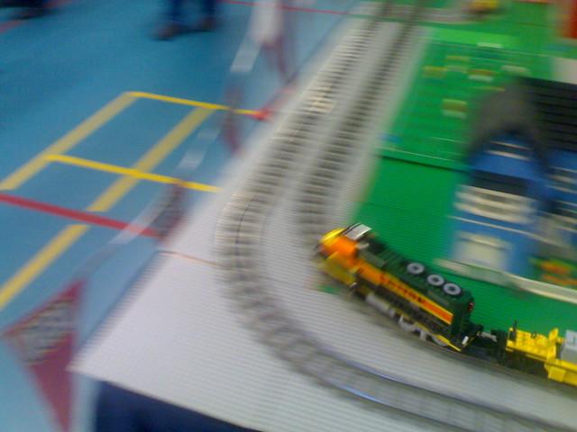 Lego BNSF Model Train