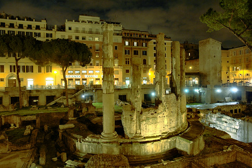 Roma - Sacred Area ....... where roman cats live!