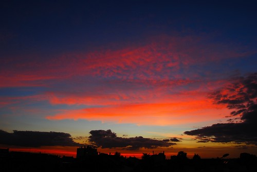 Colours on sky (Sunset)