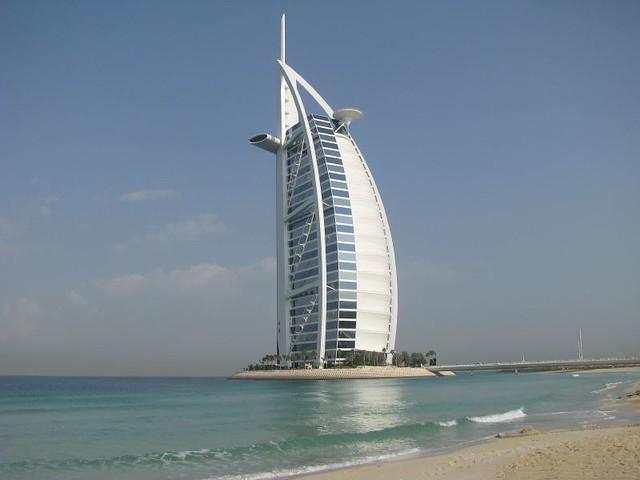 Famous Burj Al Arab Hotel Dubai 6 Said To Be The