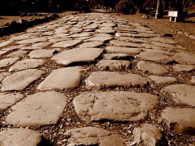 Ostia antica - lastricato