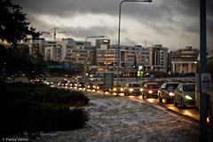 Tapiola morning traffic