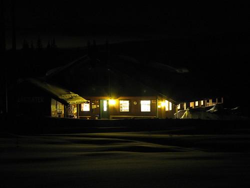 house norway norge nightimages valdres oppland ellingsaeter