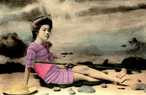 COOL GEISHA -- Posing as a Bathing Beauty