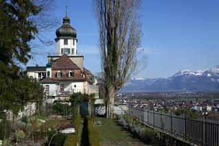 Immagine di Schloss Grünenstein. castle geotagged schweiz switzerland suisse swiss kecko ostschweiz sg svizzera rheintal schloss 2008 balgach grünenstein swissphoto rheintalbild geo:lat=47406098 geo:lon=9595597