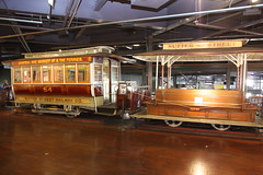 This San Francisco museum showcases a Sutter Street cable car from the system's early days.