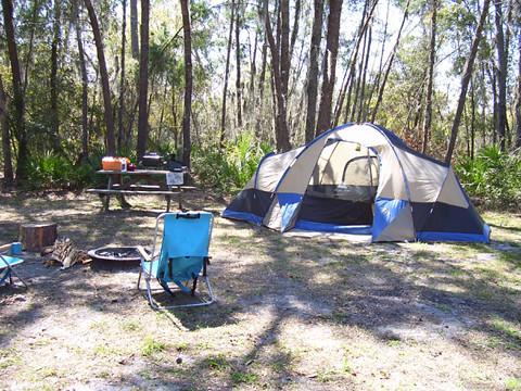Camping at Rye Preserve