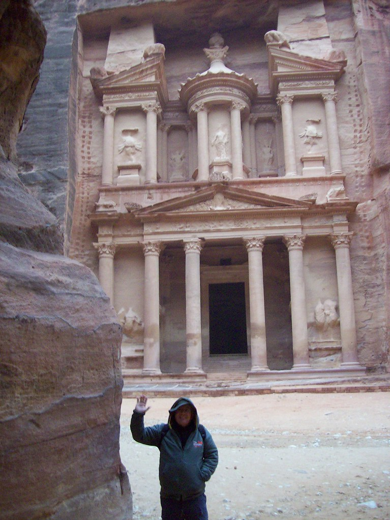 Me at Petra Entrance