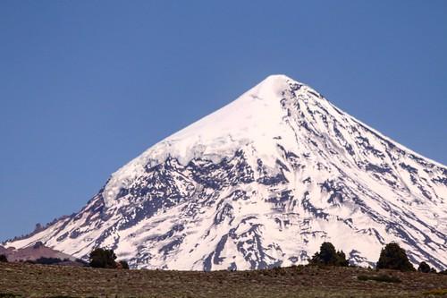 lanin volcanoes volcanes