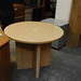 Maple 900 circular meeting table E110