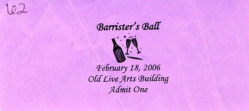 Barrister's Ball 2006
