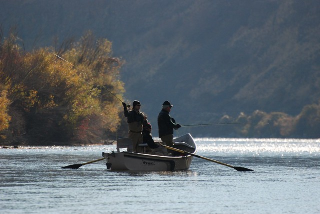 Anglers enjoy the upper section of the Yakima Canyon, near Ellensburg, Wash.Credit: Scott Butner/Flickr