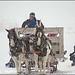 Sleigh Ride, Christmas Eve snowstorm, Driggs Idaho