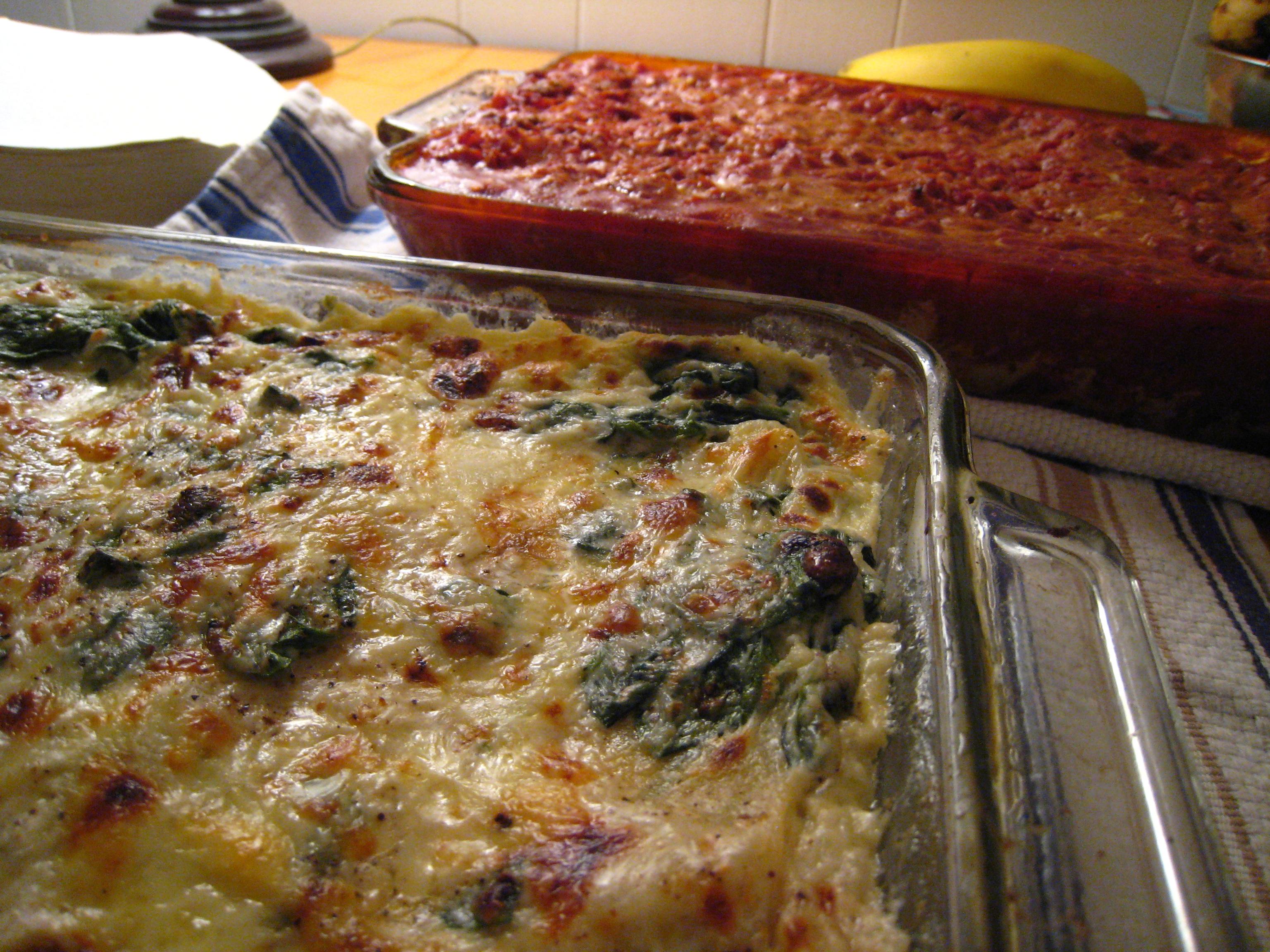 Lasagna | Spinach Lasagna / Three Meat | By: mrgarin | Flickr - Photo ...
