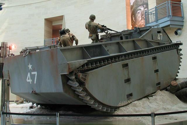 LVT-1 Amphibious Tractor Rear