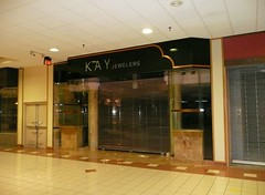 Overland Park, KS Metcalf South Shopping Center (a dead mall) Kay Jewelers