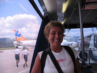 at Split Airport