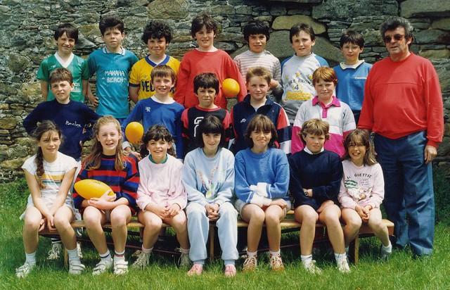 Roscoff - Ecole-publique CM2 1985