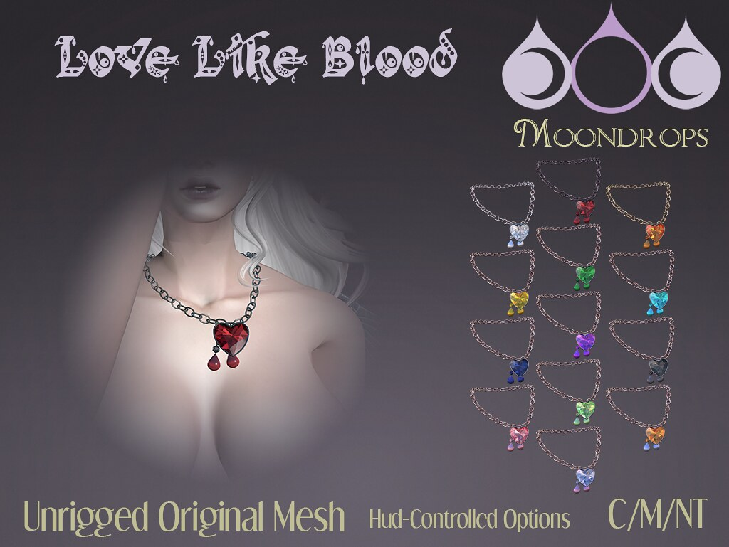 Moondrops - Love Like Blood - XOXO - SecondLifeHub.com