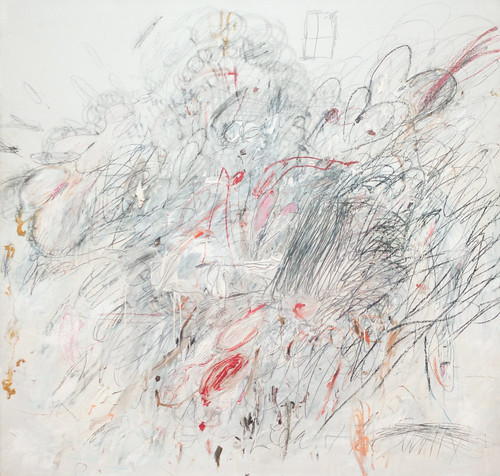 Cy Twombly, Leda and the Swan, 1962