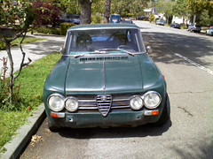 ALFA sedan from out front