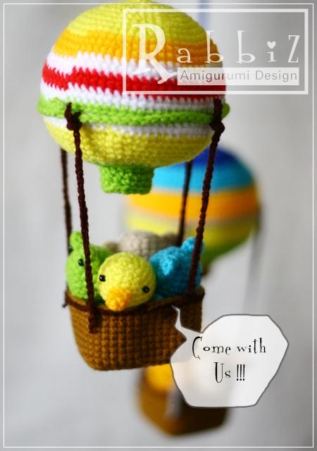 Amigurumi Hot Air Balloon Flickr - Photo Sharing!
