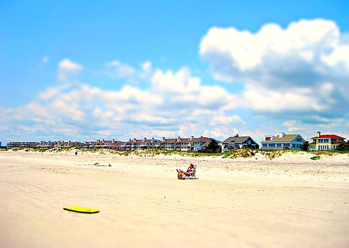 summer vacation sun hot beach landscape fun nc sand wilmington beachhouse memorialday wrightsville boogieboard tiltshift flipmode79