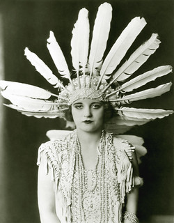 tallulah bankhead, feathered