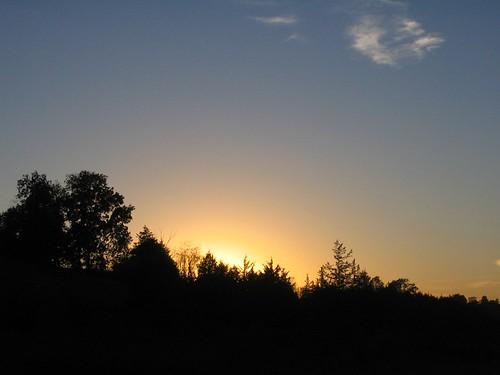 autumn sunset fall galena