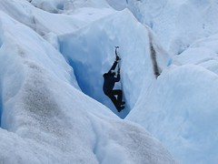 adventure(1.0), sports(1.0), outdoor recreation(1.0), glacial landform(1.0), mountaineering(1.0), ice cap(1.0), ice(1.0), glacier(1.0), extreme sport(1.0), ice climbing(1.0), freezing(1.0),