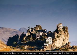 Yemen - Harraz mountains - Hiking in the region