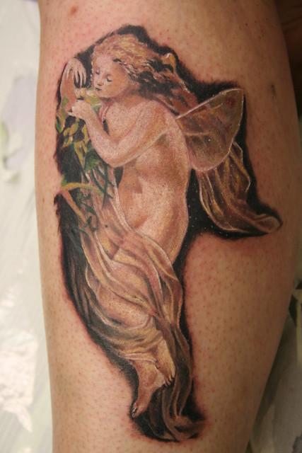 fairy tattoo by Mirek  vel Stotker
