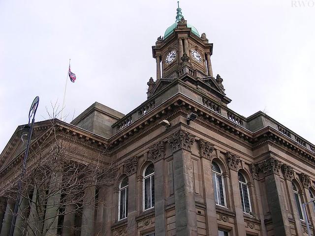 Birkenhead United Kingdom  city images : Birkenhead Town Hall, Hamilton Square, Birkenhead